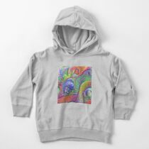 #DeepDream abstraction Toddler Pullover Hoodie