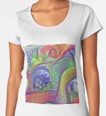 #DeepDream abstraction Premium Scoop T-Shirt