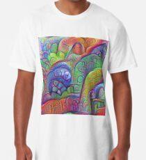 #DeepDream abstraction Long T-Shirt
