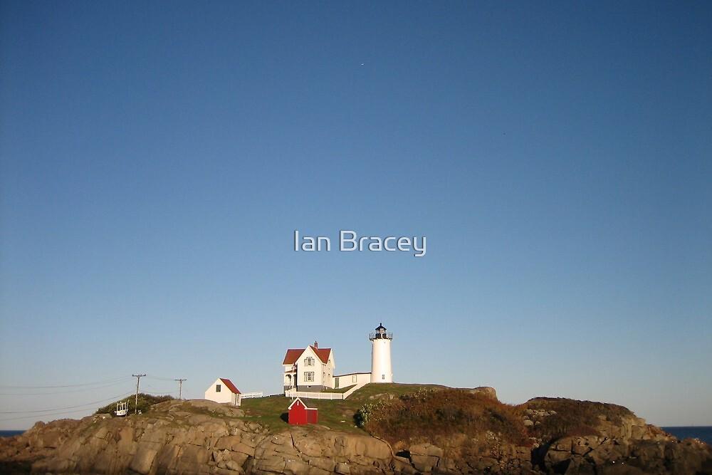 Nubble Light, New England by Ian Bracey