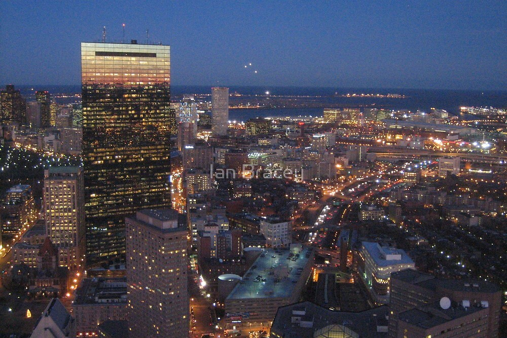 The John Hancock Building, Boston by Ian Bracey