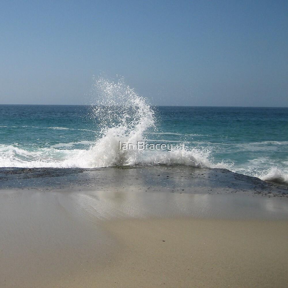 Waves, California by Ian Bracey
