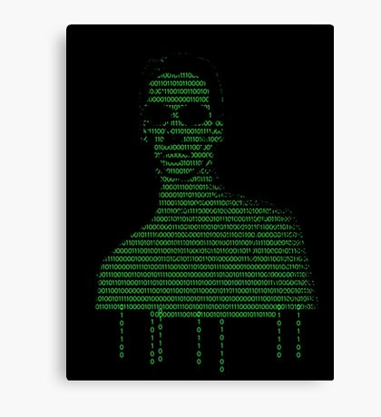 Neo Matrix Canvas Print