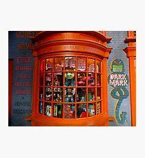 Weasley's Wizard Wheezes Photographic Print