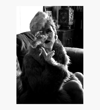 Furs and Cigarettes (ltd ed) Photographic Print