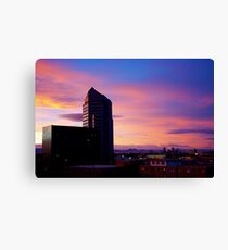 Denver Sunset Canvas Print