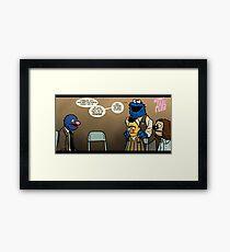 Remaining Muppets Together Framed Print