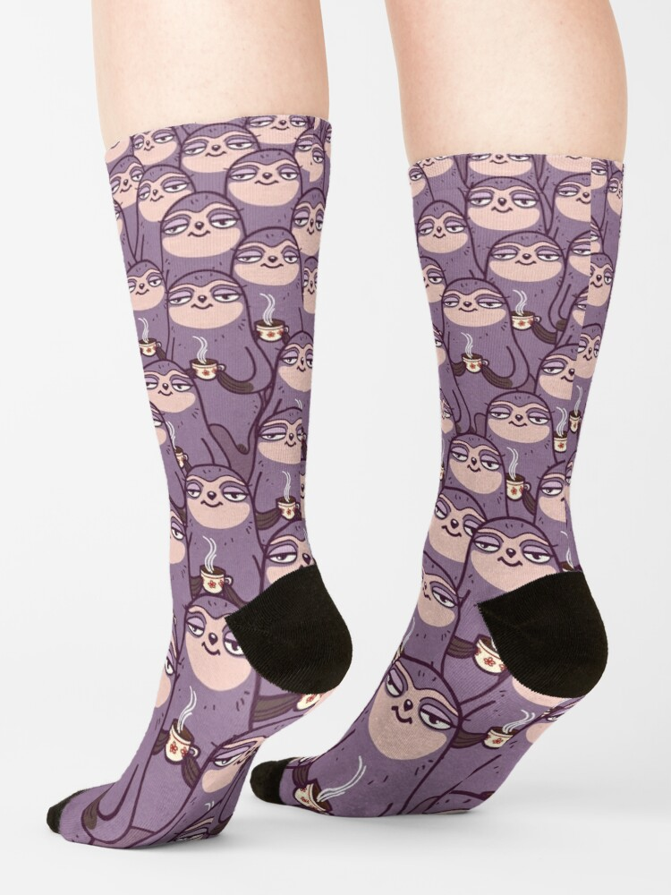 Alternate view of Sloth-tastic! Socks