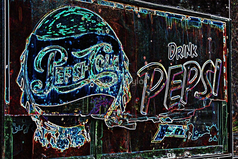 Old Sign- Pepsi by Terrie Taylor