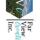 Far View Creations Inc. Logo - Large Horizontal by Samm Poirier