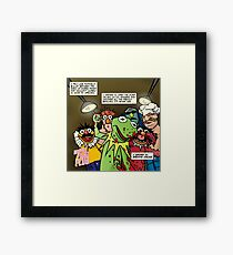 I wanted to destroy something beautiful. Framed Print