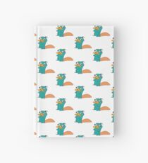 Perry The Platypus Hardcover Journal