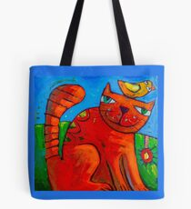 Ginger and the Lovebird 2 Tote Bag