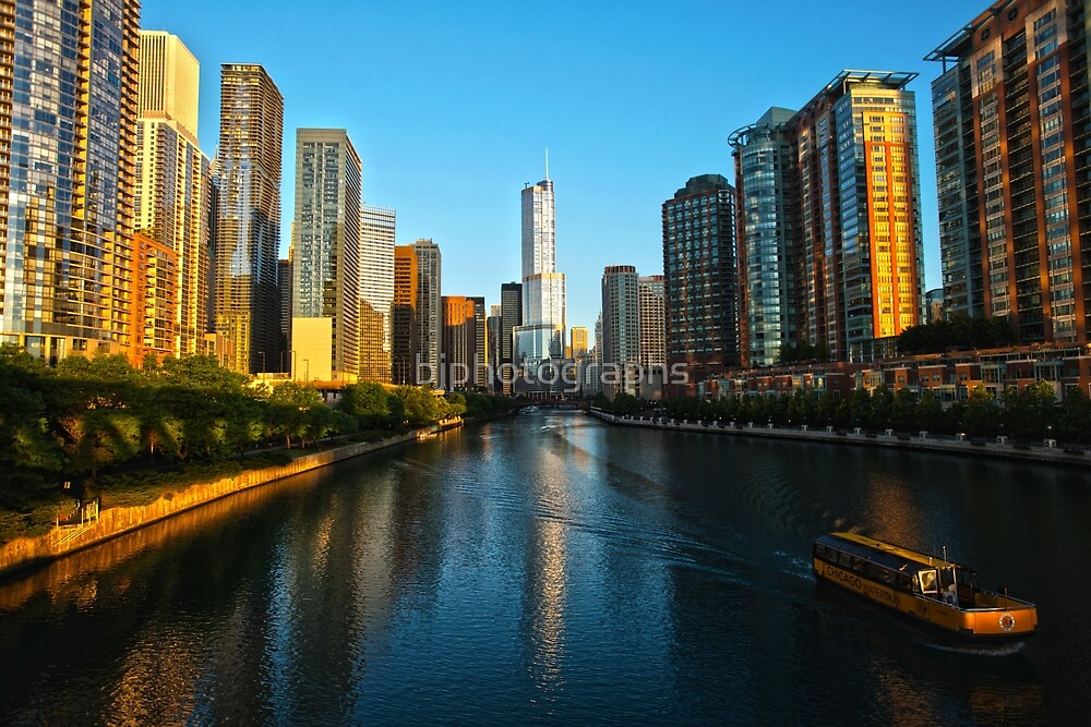 Chicago River by bjphotographs