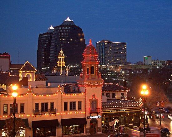 Kansas City Plaza Lights - Christmas  by TeeMack
