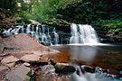 Cayuga Falls in Summer Twilight  by Gene Walls