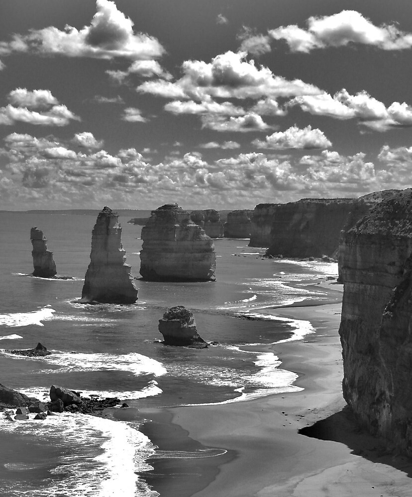black  and white  by bradnath