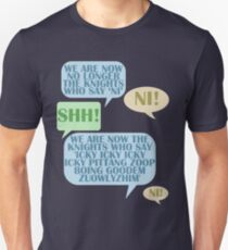 We are now no longer the knights who say 'Ni'  Unisex T-Shirt