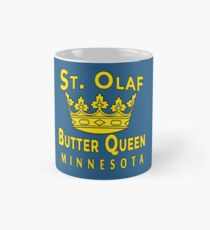 ST OLAF BUTTER QUEEN WITH CROWN Mug