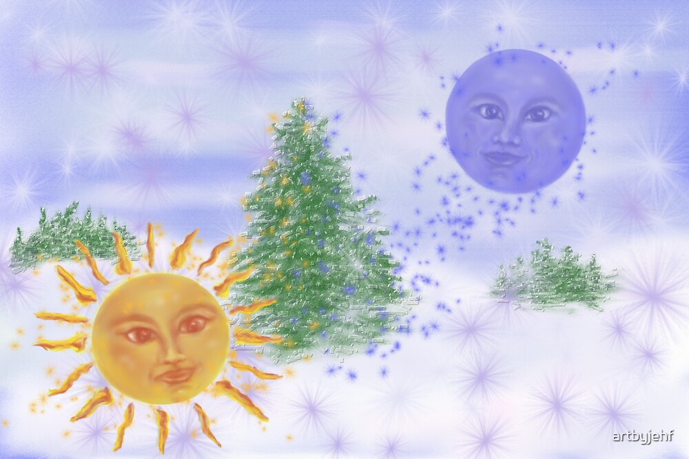 Winter Solstice by artbyjehf