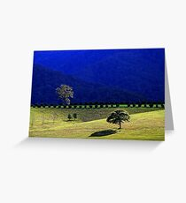 valley blues Greeting Card