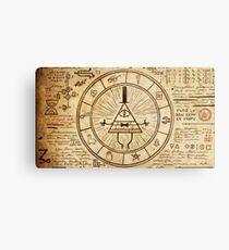 Bill Cipher Wheel Metal Print