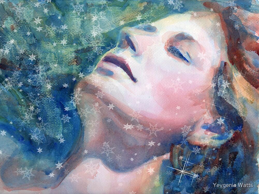 Snow Maiden by Yevgenia Watts