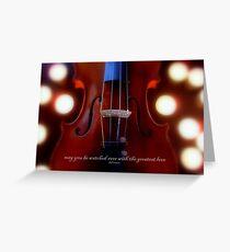 violino illuminato © 2010 patricia vannucci  Greeting Card