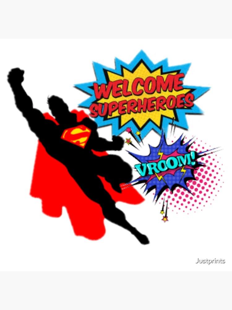Superhero  by Justprints