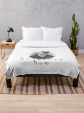 Dorothea Dix Throw Blanket