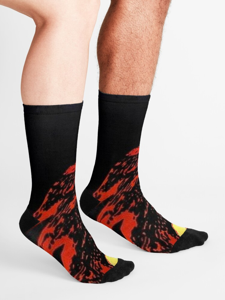 Alternate view of LES MISERABLES: Restored Colorized Advertising Print Socks