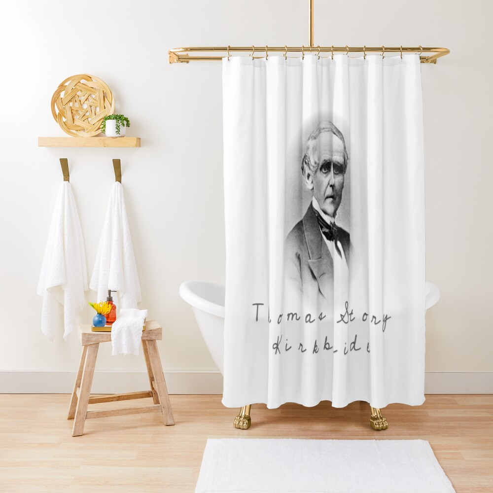 Thomas Story Kirkbride Shower Curtain