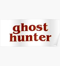 Retro 80s Ghost Hunter Poster