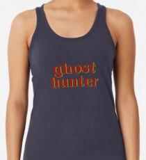 Retro 80s Ghost Hunter Racerback Tank Top