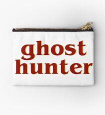 Retro 80s Ghost Hunter Zipper Pouch