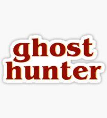 Retro 80s Ghost Hunter Sticker