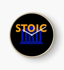 Stoic - Stay Stoic - Find Freedom Clock