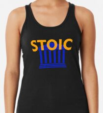 Stoic - Stay Stoic - Find Freedom Racerback Tank Top