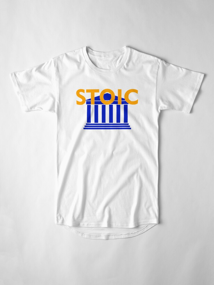 Alternate view of Stoic - Stay Stoic - Find Freedom Long T-Shirt
