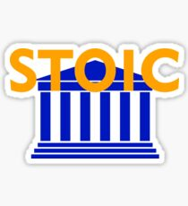 Stoic - Stay Stoic - Find Freedom Sticker