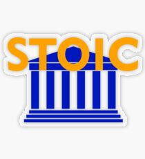 Stoic - Stay Stoic - Find Freedom Transparent Sticker