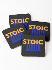 Stoic - Stay Stoic - Find Freedom Coasters