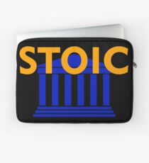 Stoic - Stay Stoic - Find Freedom Laptop Sleeve
