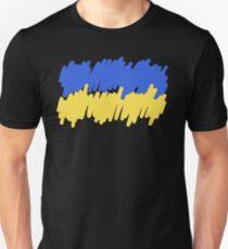 Ukrainian Flag Drawing T-Shirt