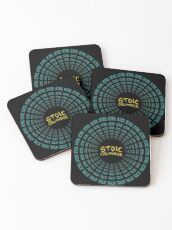 Stoic Calmness - Find Your Calm - Resist Anger Coasters