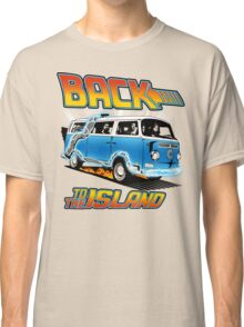 Back to the Island Lost And Back to the Future Spoof Classic T-Shirt