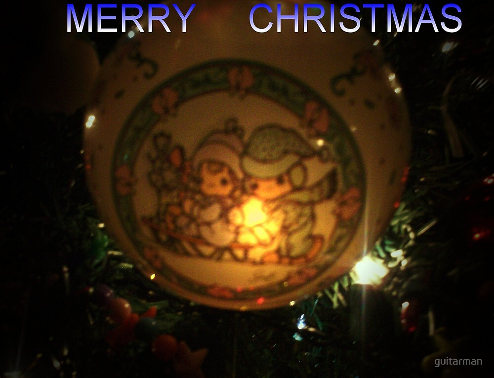 Merry Christmas by guitarman