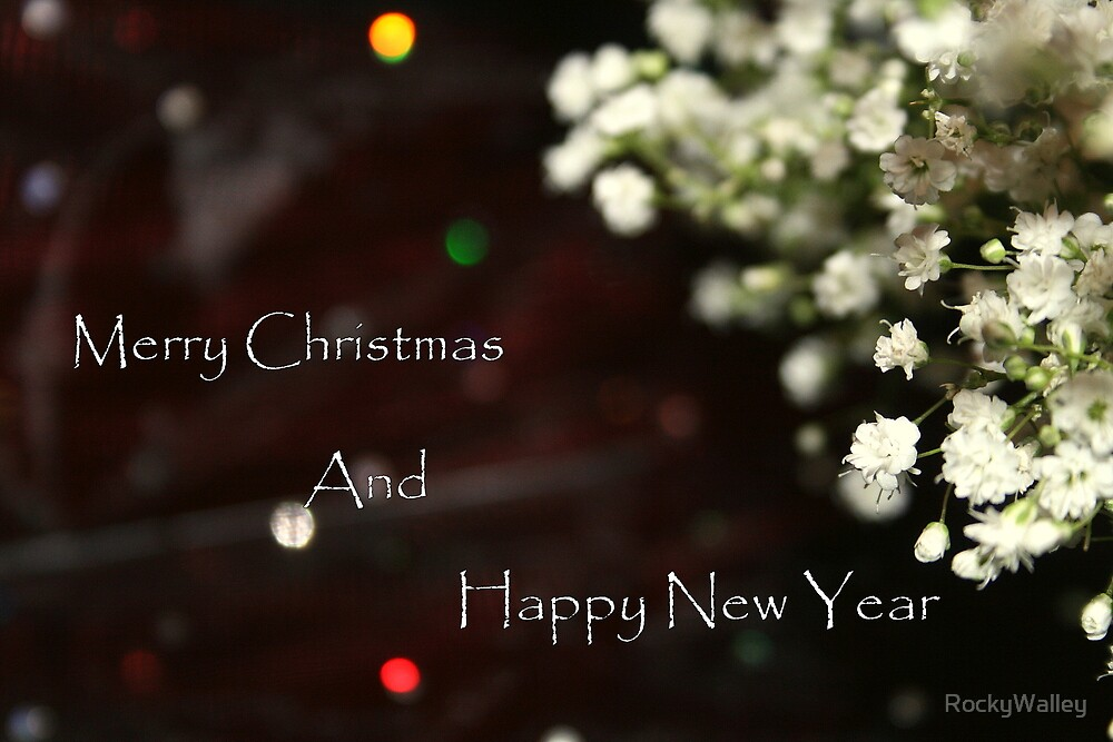A Floral Christmas and New Year by RockyWalley