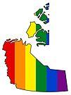 Northwest Territories Pride! by Sun Dog Montana