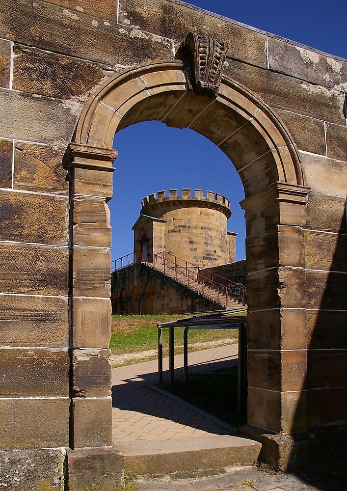 Prison Architecture, Port Arthur, Tasmania by Tony Cave